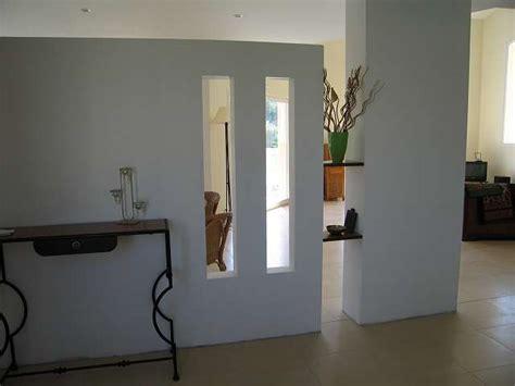 cloison vitree cuisine salon cloison en placo entree recherche brico placo