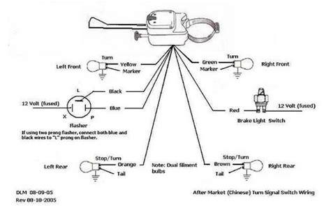dune buggy universal turn signal switch