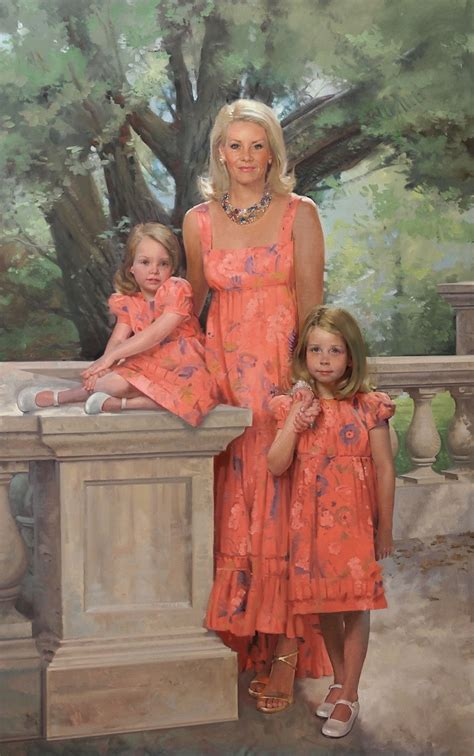 Gerald J Ford by Howard Sanden American Portrait Painter