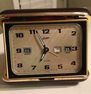 Linden Travel Alarm Clock Item No  1528  Original Box With