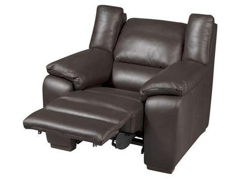 canapé en soldes conforama fauteuil relaxation électrique en cuir saturday coloris