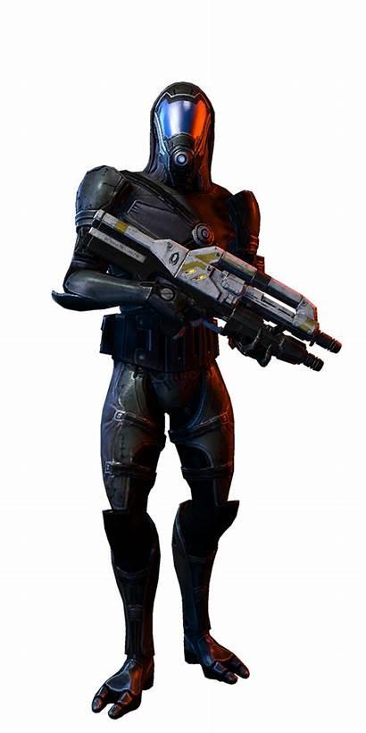 Mass Effect Quarian Soldat Marksman Soldier Multijoueur