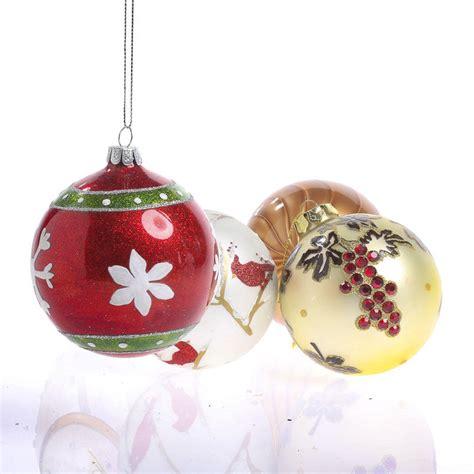 assorted glass ball christmas ornaments christmas