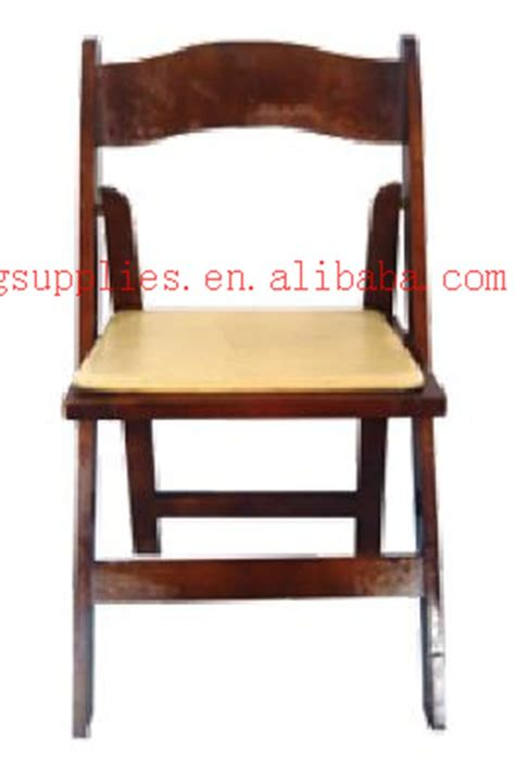 brown wood folding wedding chair folded banquet