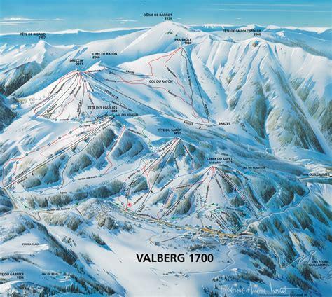 guide chambre d hote plan des pistes de valberg guide des stations ski flv fr
