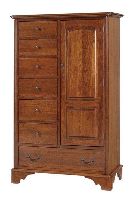 american door and drawer armoire chest of drawers from dutchcrafters amish furniture
