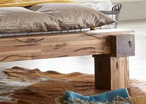 Bett 200x200 Günstig : sam balkenbett elke massivholz 200x200 cm g nstig ~ Indierocktalk.com Haus und Dekorationen