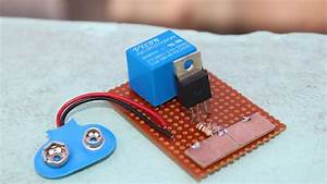 How To Make Touch Switch Using Mosfet Irfz44n And Relay