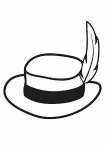 Dessin De Plume Facile : coloriage chapeau avec plume img 19350 ~ Melissatoandfro.com Idées de Décoration