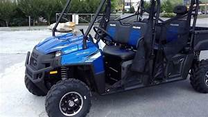 2013 Polaris Ranger Crew 800 Eps Le In Blue Fire At Tommy U0026 39 S Motorsports