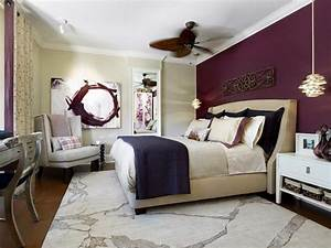 Purple Modern Master Bedroom | Fresh Bedrooms Decor Ideas