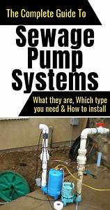 The Complete Guide To  Sewage Pump Systems