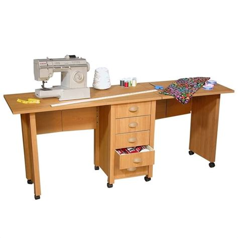 sewing machine desk sewing machine cabinet table craft desk furniture dual