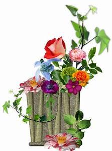 Pot De Fleur Transparent : composition florale ~ Teatrodelosmanantiales.com Idées de Décoration