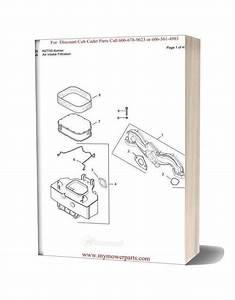Cub Cadet Parts Manual For Model Rzt50 Kohler
