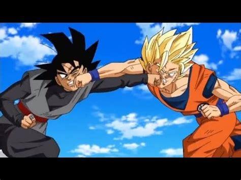 Dragon Ball Super Anime Review Son Goku Ssj2 Vs Goku Black Dragon Ball Super Anime