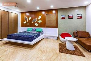 Marble, Flooring, In, Bedroom, Paneling, Indian, Home, Design