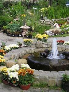Exterior classy front yard fountain for extravagant house for Backyard water fountains
