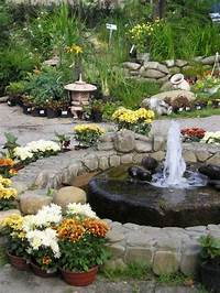 backyard water fountains exterior: Classy Front Yard Fountain for Extravagant House Exterior Impression, Luxury Busla ...