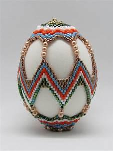 Beaded Egg Pdf Pattern Tutorial