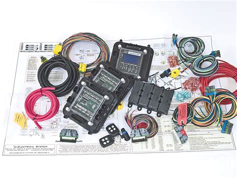 Multiplexing Wiring Kit Simplifying Modern Hot Rodders