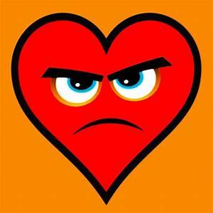 Heart Series Love Angry Hearts Painting by Tony Rubino