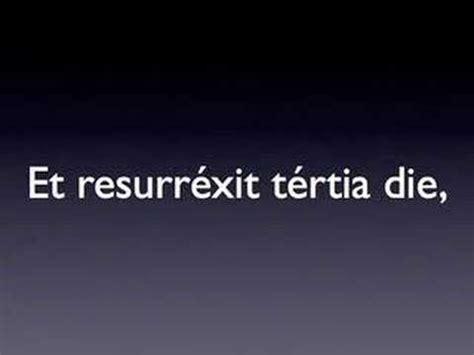 Credo In Latin Youtube
