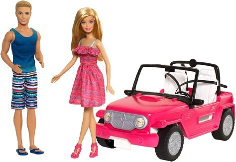 Barbie & Ken Beach Cruiser