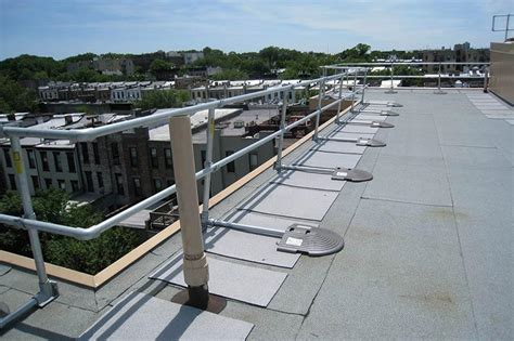 Roof Handrail & Keeguard® Topfix Tested To Meet The