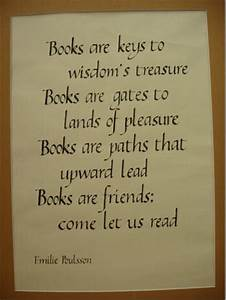 Poem About Reading - Book Poem - Poem About Books