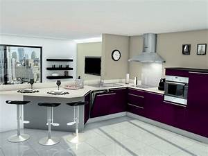 modele cuisine avec evier d39angle cuisine idees de With cuisine avec evier d angle
