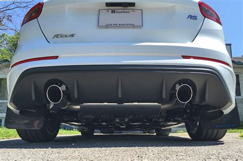ford focus st rs mud flaps red logo rally armor