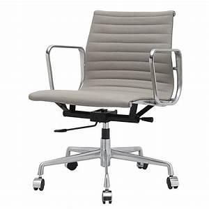 Stühle Grau Leder : grau leder b ro stuhl moderne b rost hle st hle und home office ~ Watch28wear.com Haus und Dekorationen