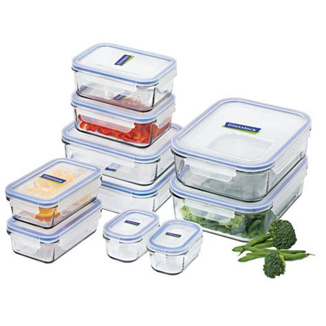 kitchen storage containers glass glasslock container 10pc set buy now save 6158