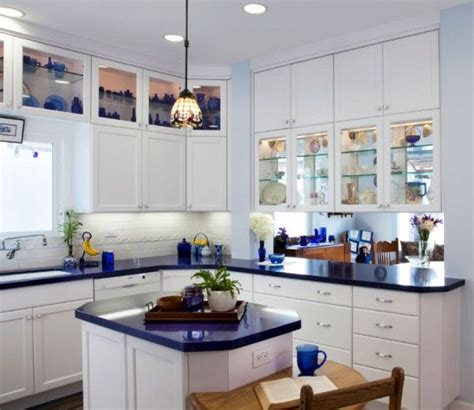 Blue Countertop Kitchen Ideas 25 best ideas about blue kitchen countertops on