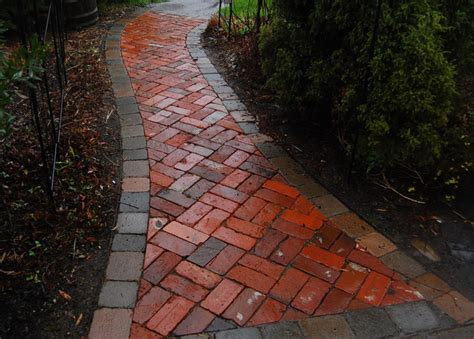 brick pathways landscaping brick pathway 2 traditional landscape portland by garden stories
