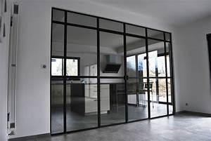 Verriere Interieure Coulissante : fabrication verri re d 39 artiste porte d 39 atelier menuiserie ~ Premium-room.com Idées de Décoration