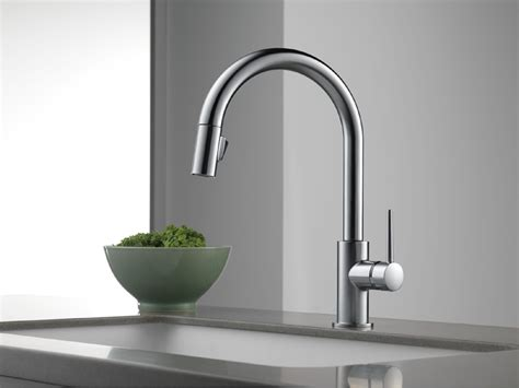 kitchen faucet pull delta 9159 ar dst trinsic single handle pull kitchen