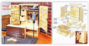 Rotary Tool Cabinet Plans • WoodArchivist