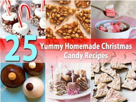 25 Yummy Homemade Christmas Candy Recipes