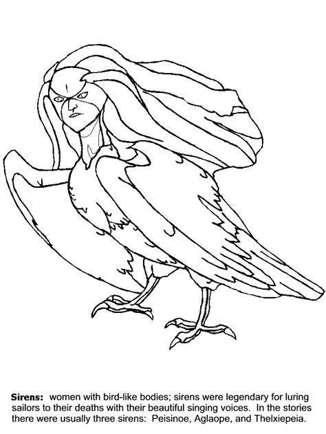 Kleurplaat Real Weel by Mythology Coloring Pages Coloring Home