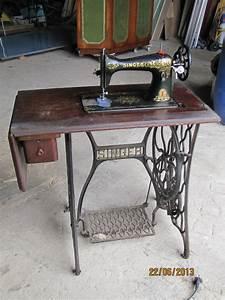 Ancienne Machine A Coudre : ancienne machine a coudre la f e licit ~ Melissatoandfro.com Idées de Décoration