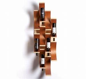 Unique wall mounted wine racks ideas