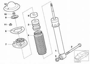 Bmw X5 Auxiliary Shock Absorber  Rear  L 90mm  Suspension