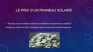 Prix D Un Panneau Solaire : cette recherche a t faite par deux scientifiques fous ~ Premium-room.com Idées de Décoration