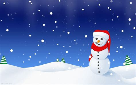 Winter Snowman Wallpapers  Wallpaper Cave