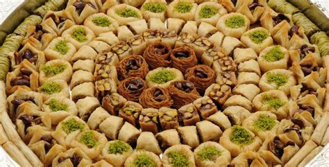 cuisine libanais lebanese baklava oasis baklawa