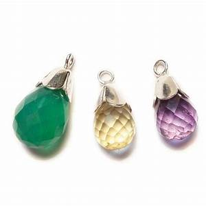 Sterling Silver Small Plain Bell Caps