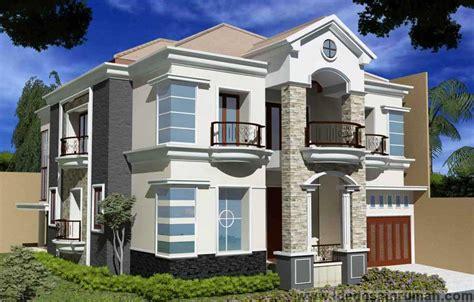 rumah minimalis ala eropa modern gambar desain model