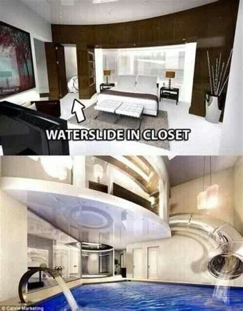 cool water closet coolest bedroom water slide in the closet drops you